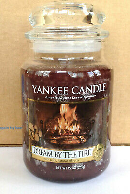 Yankee Candle Dream By The Fire 22 Oz Jar Winter Wonderland Collection New