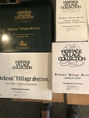 Dept. 56 - Dickens Village And More Dept. 56 - Approx. 160 Boxed, 3 Unboxed..