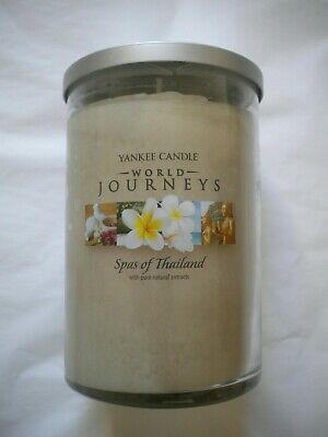 New Yankee Candle World Journeys 20 Ounce Large Tumbler Candle Spas Of Thailand