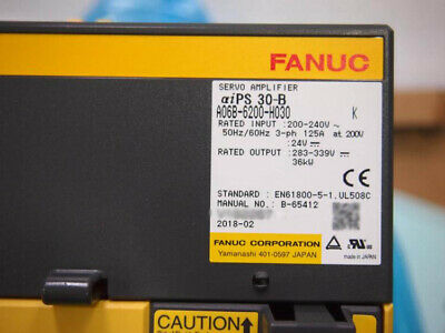 Fanuc A06b-6200-h030 Servo Amplifier A06b6200h030 New In Box Expedited Shipping