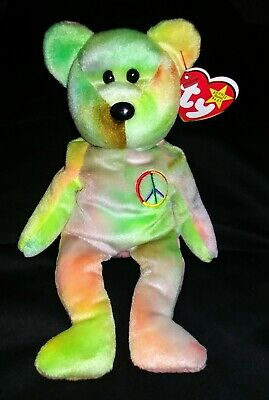 *rare* Beanie Babies Peace,retired,mint Condition,tags Included.