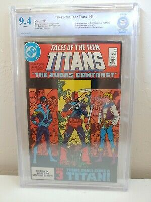 Tales Of The Teen Titans #44 Cbcs 9.4 Nm 1st Nightwing + Jericho