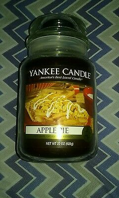 Rare,apple Pie,22oz. Yankee Candle