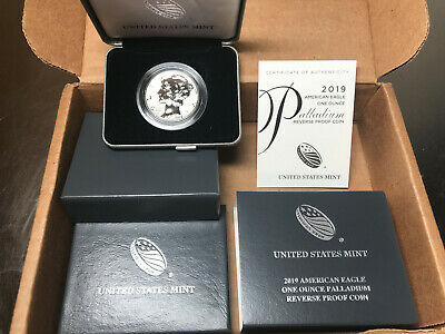 2019 W American Eagle One Ounce Palladium Reverse Proof Coin West Point 19ek