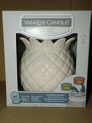 Yankee Candle Scenterpiece Warmer Pineapple With Timer Brand New In Box