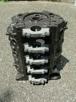 1969 Big Block Chevy Bbc 396 375hp 4 Bolt Block 3955272 272 C-21-9 Standard Bore
