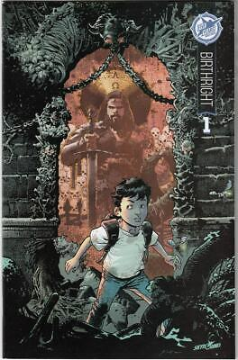Birthright #1 Nm+ Skybound 5th Anniversary Variant Cover Sdcc Exclusive (2015)