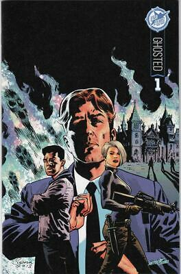 Ghosted #1 Nm+ Skybound 5th Anniversary Variant Cover Sdcc Exclusive (2015)