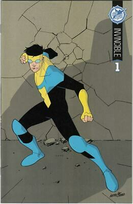 Invincible #1 Nm+ Skybound 5th Anniversary Variant Cover Sdcc Exclusive (2015)