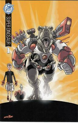 Super Dinosaur #1 Nm+ Skybound 5th Anniversary Variant Cover Sdcc Exclusive 2015