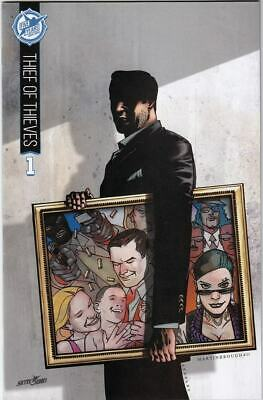 Thief Of Thieves #1 Nm+ Skybound 5th Anniversary Variant Cover Sdcc Exclusive