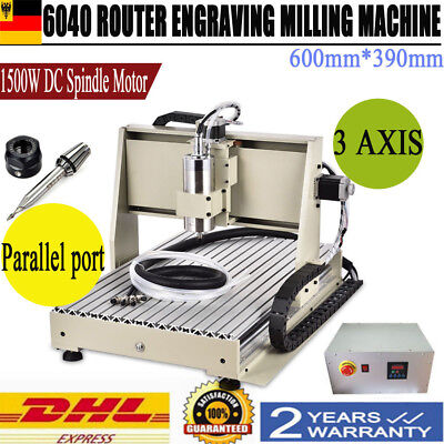 3 Axis Cnc Router 6040 Machine 3 Rotating Axis Milling 1404 Trapezoidal Screw Us