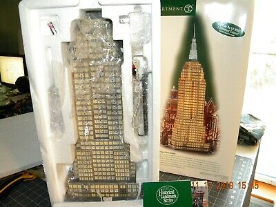 Dept 56 Empire State Building From Christmas In The City. New Never Used