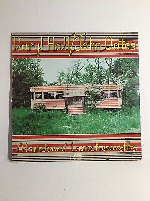 Daryl Hall And John Oates Abandoned Luncheonette Lp Record Atlantic Vintage 1973
