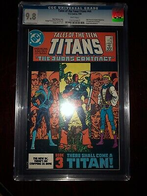 Tales Of The Teen Titans 44 Cgc 9.8 Nm/mint 1st Nightwing Jericho Deathstroke