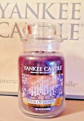 * Yankee Candle * Festival Of Lights *  22 Oz. ~ Treasure - Holidays