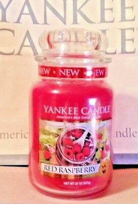 * Yankee Candle * Red Raspberry *  22 Oz. ~ So Nice