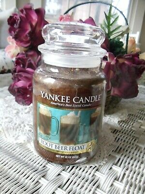 Yankee Candle Root Beer Float 22 Oz!
