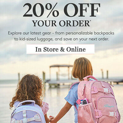 20% Off Pottery Barn Kids Coupon Code Online/in Stores Exp 1/30/20 10 15