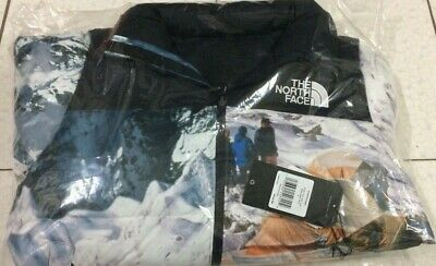 "Invincible For The North Face ""the Expedition"" Nuptse Jacket Sz Large In Hand"