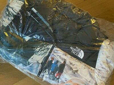 "Invincible For The North Face ""the Expedition"" Nuptse Jacket Sz X-large In Hand"