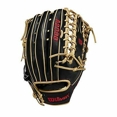 Wilson A2000 Series 12.75 Black/blonde - Outfield Model Left Hand Throw 12.75""