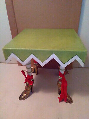 Dept. 56 Patience Brewster Square High Heeled Table