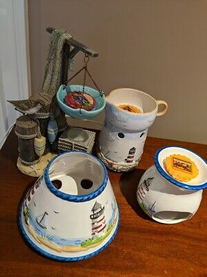Yankee Candle Beach Themed Hanging Tart Collection (good Condition)