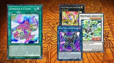 Yugioh Ignition Assault En @ignister Deck Core Pikari Achichi Doyon Linguriboh