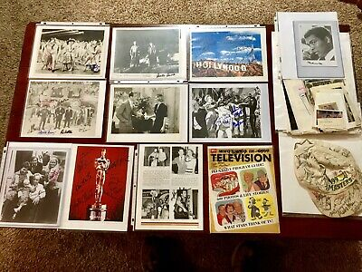 100+ Rare Autographs Lot Cast Signed Johnny Cash Muhammad Ali All In The Family