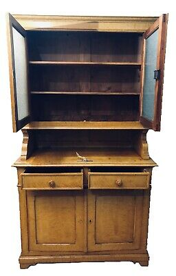 Antique French Country Buffet Cupboard  Sideboard C. Early 19th Century