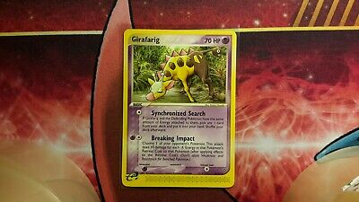 Girafarig EX Dragon Pokemon Card LP