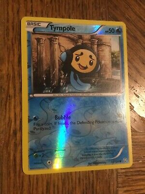 Pokemon Reversed foil Tympole Dragons Exalted #34/124 Near Mint