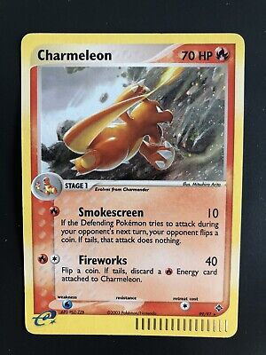 Pokemon Card Charmeleon 99/97 Secret Ultra Rare Dragon EX BLOC US