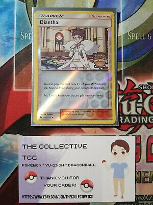 Pokemon TCG Diantha 105/131 Regional Promo, Forbidden Light, NM-Mint
