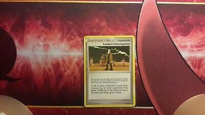 Looker's Investigation Supporter Platinum Pokemon Card LP