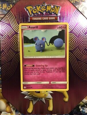 Azurill 146/236 - Common Pokemon Card - Cosmic Eclipse Set (2019) - NM
