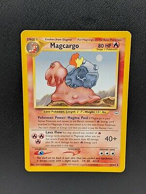 Magcargo 33/64 Uncommon Neo Revelation 2002 Near Mint Pokemon Card