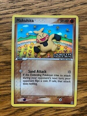Makuhita 75/113 EX Delta Species Holo Pokemon Card PSA 9