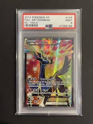 Pokemon MINT Xerneas EX Full Art XY Base Set PSA 9 #146