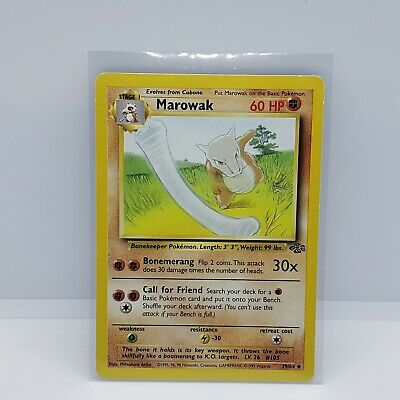 MAROWAK - Jungle Set - 39/64 -  Pokemon Card - LP/ NM