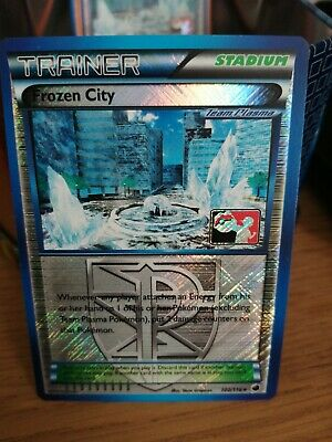 Pokemon Trainer Frozen City 100/116 Plasma Freeze League Promo