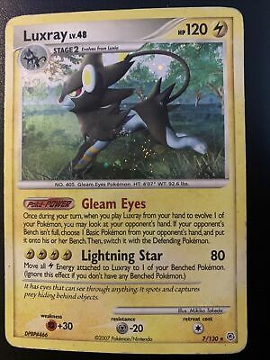 Luxray - 7/130 - Holo Rare Diamond & Pearl Pokemon