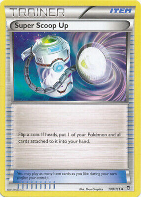 1x - Super Scoop Up - 100/111 - Uncommon NM, English Pokemon Furious Fists