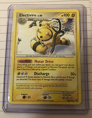 Electivire 25/132 - Diamond And Pearl Secret Wonders - RARE - Pokemon Card