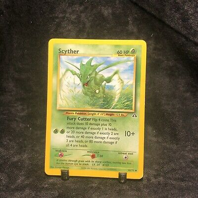 Scyther 46/75 Neo Discovery Pokemon Card EXC
