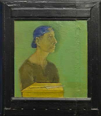 Oil Painting T.s. Humes Self Portrait