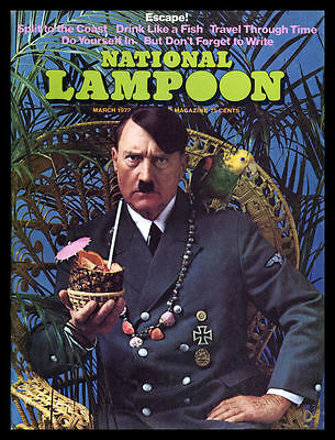 National Lampoon Fridge Magnet 6x8 Escape With Hitler Magnetic Magazine Cover