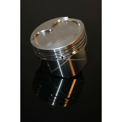 """Dss Racing Piston Set 4063x-4000; Gsx 4.000"""" Bore Forged Dish For Ford 302 Sbf"""