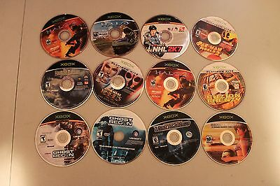 Lot Of Over 35 Original Xbox Games. Disc Only, Good Variety, Instant Collection.